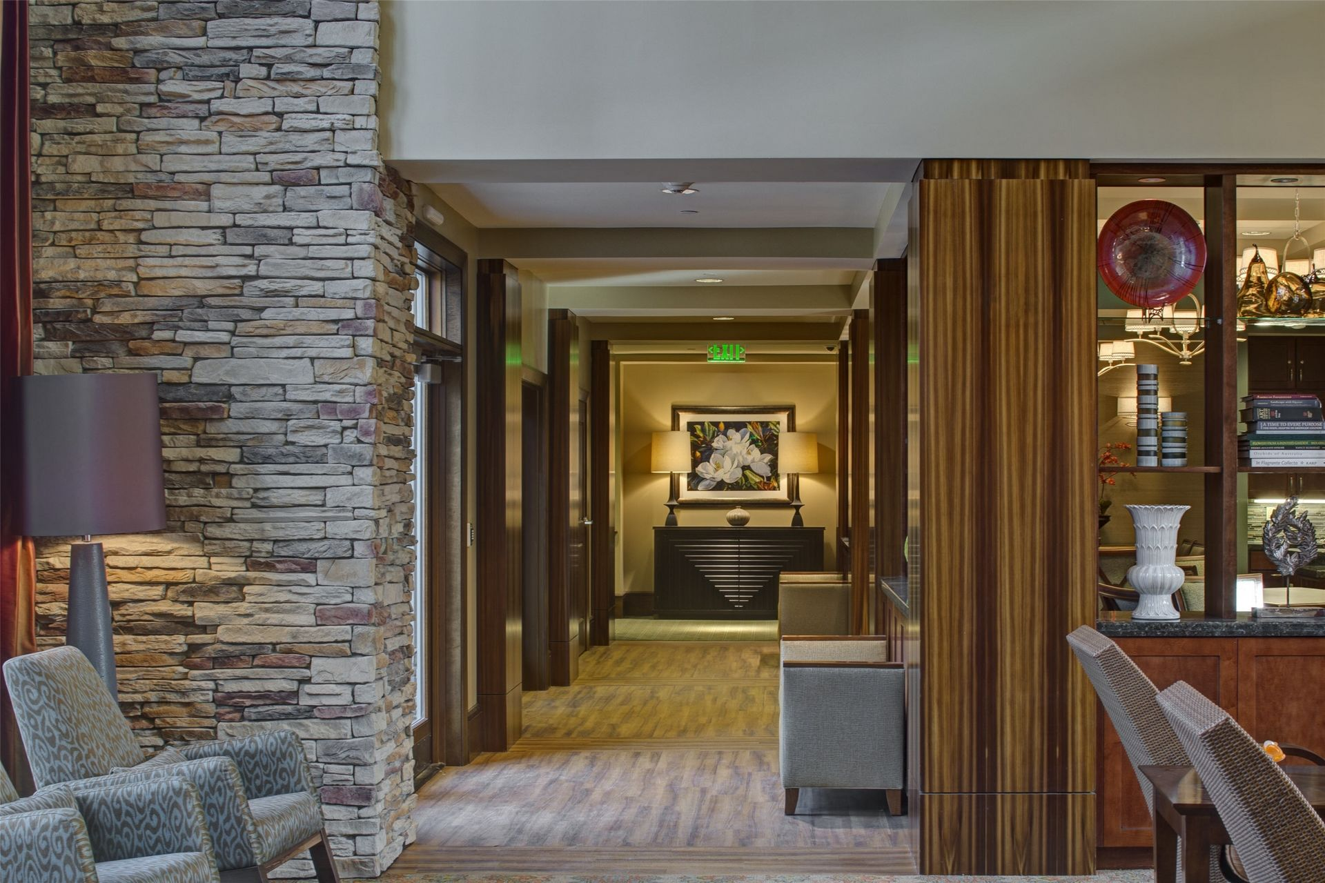 Assisted Living, Memory Care Design THW Lobby Corridor
