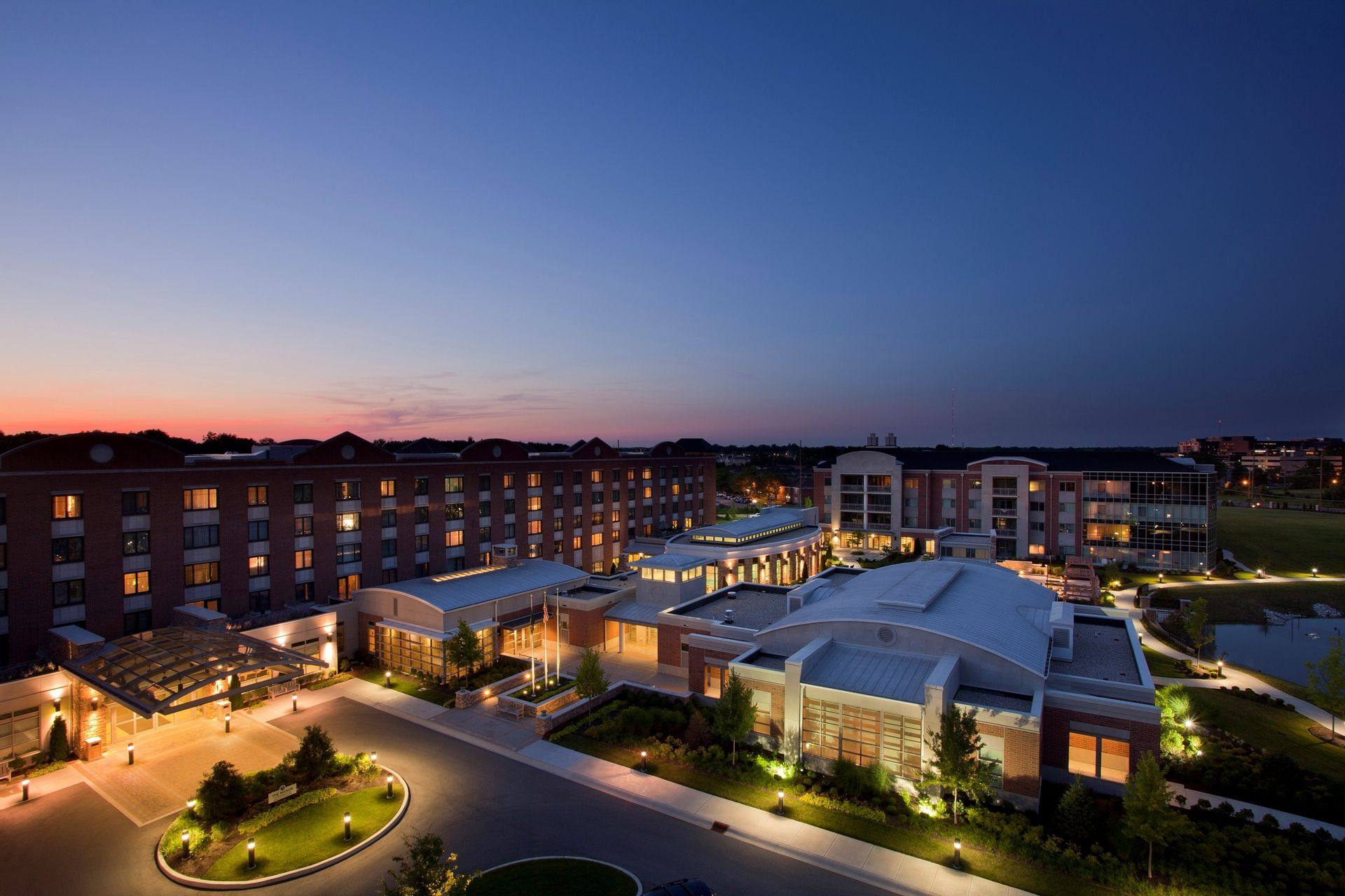 THW | Marquette | Birdseye View | Senior Living Design