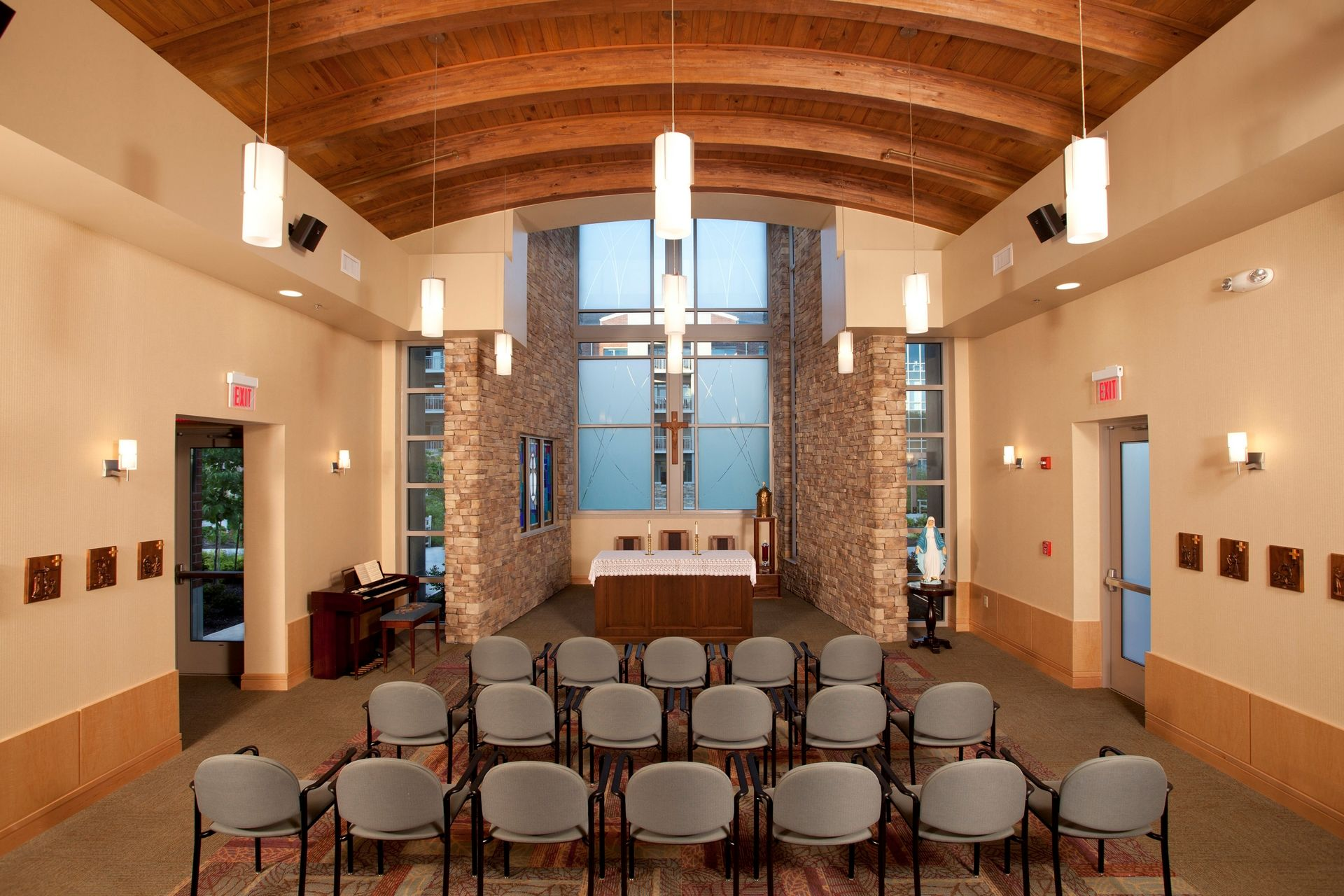 THW | Marquette | Chapel | Senior Living Design