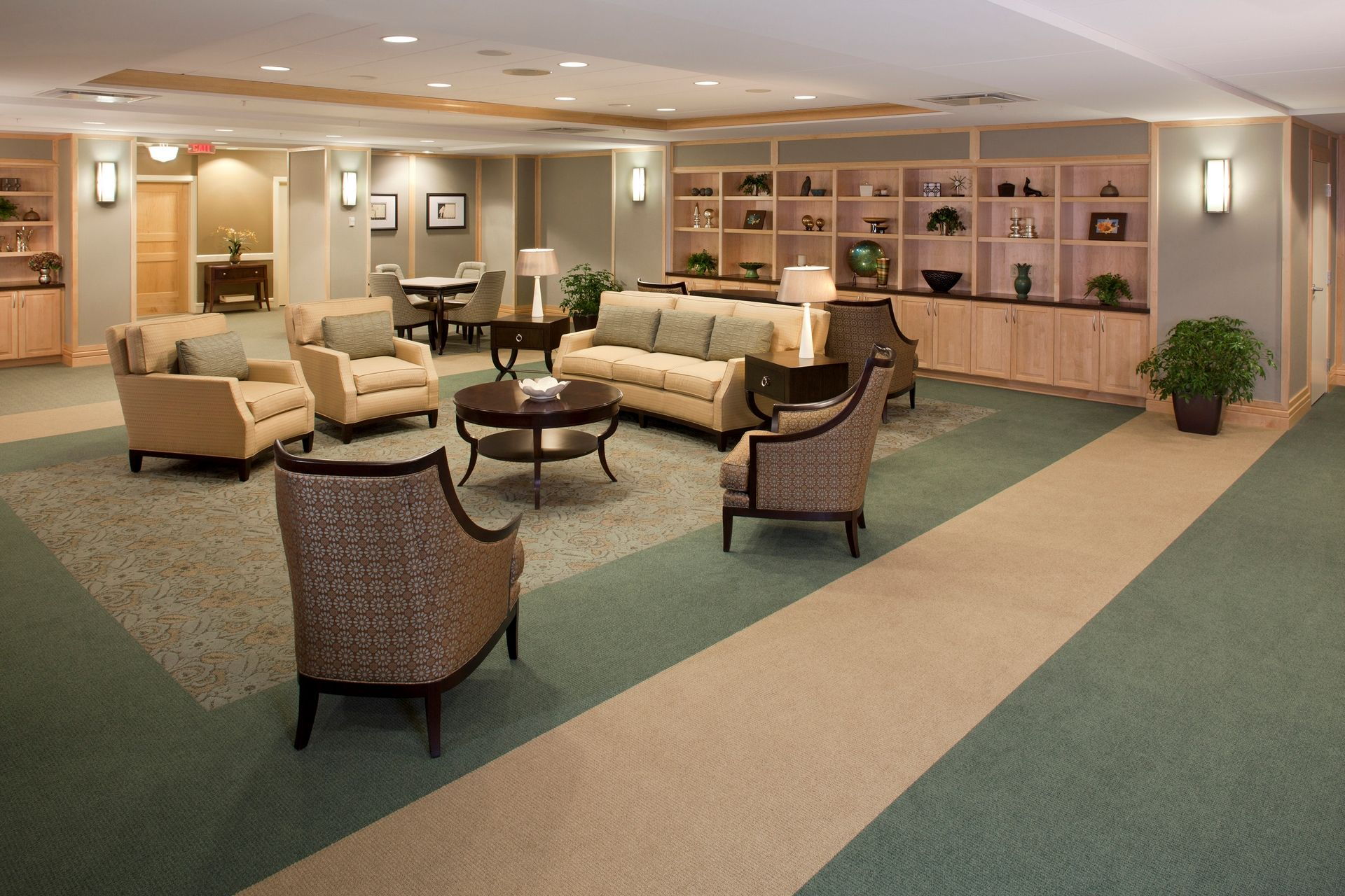THW | Marquette | Living Room | Senior Living Design