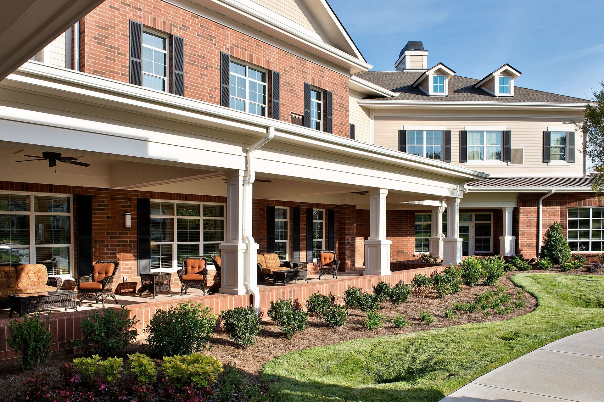 Sterling Estates Assisted Living Design THW Covered Porch