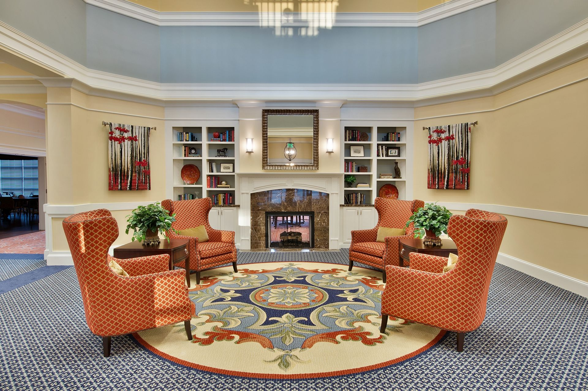 Sterling Estates Assisted Living Design THW Living Room