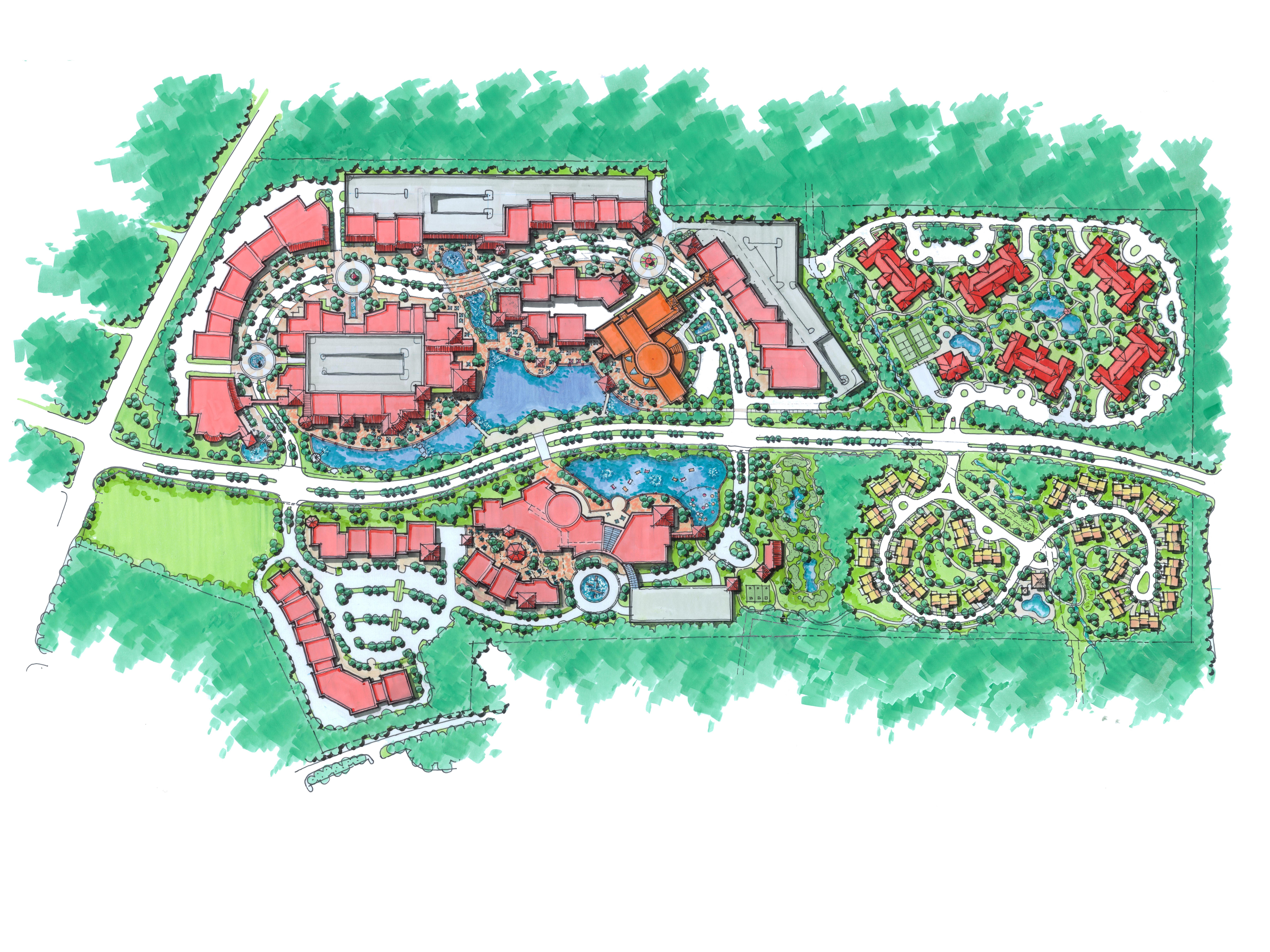 Senior Living, Landscape Architect, THW, THW Atlanta, Top Land Planning, Best Landscape Architects, Mixed Use Development Planning, Master Planning